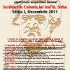 """Simpozionul Naţional """"Scriitori în Colonia lui Ion D. Sîrbu"""", prima ediţie"""