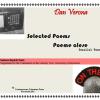 """""""Selected Poems/ Poeme alese"""" de Dan Verona"""