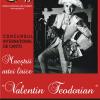 """Concursul Internaţional de Canto """"Maeştrii artei lirice"""", a patra ediţie"""