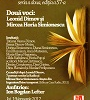 """Scriitorii Leonid Dimov şi Mircea Horia Simionescu, evocaţi la """"Cafeneaua Critică"""""""