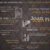 """""""Teatru de poezie şi muzică, inspirat din poemele lui Ioan Flora"""", la Novi Sad"""