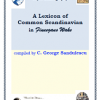 """A Lexicon of Common Scandinvian in Finnegans Wake"" de C. George Săndulescu"