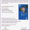 """Jurnalistul Luca Niculescu, invitat la evenimentul """"Porc cu piper. Şi cu Proust"""", la Librăria Bastilia"""