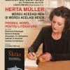 """Lectură din volumul """"Mereu aceeaşi nea şi mereu acelaşi neică"""" de Herta Muller, la Librăria Bastilia"""
