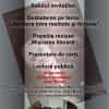 """Colocviul """"Mişcarea literară-10 ani de apariţie"""", la Bistriţa"""