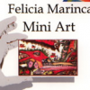 """Pictoriţa Letiţia Felicia Marinca expune la Centrul """"Calderon"""""""