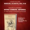 """""""Divina Comedie. Infernul""""de Dante Alighieri, lansată la USR"""