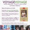 """Voyage, voyage"", la Librăria Bastilia, cu violonistul Alexandru Tomescu"