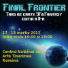 Târgul de carte SF & Fantasy, Final Frontier, ediţia a II-a