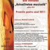 """TNO """"Ion Dacian"""": Premiul""""Spectacolul Anului"""", pentru producţia """"Rebecca"""", în cadrul Galei Premiilor Anuale ale revistei """"Actualitatea Muzicală"""""""