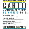 PROGRAMUL DE CARTE sărbătorește Ziua Internațională a Cărții și a Drepturilor de autor