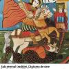 """Expoziţia de icoane pe sticlă """"Sub semnul tradiţiei. Căutarea de sine"""" de Irina Tapalagă, la MNŢR"""