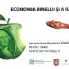 """""""Economia binelui și a răului"""" de Tomáš Sedláček, lansată la Bucureşti"""