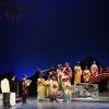 """Teodor Ilincăi şi Iulia Isaev, în spectacolul  """"Madama Butterfly"""", pe scena Operei Naționale București"""