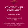 """""""Contemplaţii cromatice"""" de Ligia Podorean-Ekstrom şi Vasile Rotar, la Galeria Veroniki Art"""