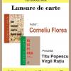 Corneliu Florea lansează două volume la Cluj