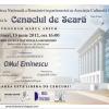 Cenaclul de Seară, la Biblioteca Naţională a României