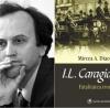"""""""I.L. Caragiale. Fatalitatea ironică"""" de Mircea A. Diaconu, lansat  la Iaşi"""