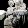 """""""O scrisoare pierdută"""", un spectacol de statui vivante"""