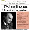 """Noica-103 ani de la naştere"", la Sibiu"