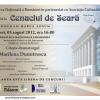 """""""Cenaclul de Seară"""", la Biblioteca Naţională a României"""