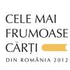 """Primul concurs naţional de design de carte: """"Cele mai frumoase cărţi din România"""""""