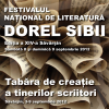 """Festivalul de Literatură """"Dorel Sibii"""", ediţia a XIV-a"""