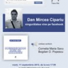 """Lansare-eveniment: """"singurătatea vine pe facebook"""" de Dan Mircea Cipariu"""