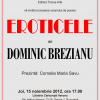 """""""Eroticele"""" de Dominic Brezianu"""
