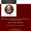 """Se lansează """"Opere"""" de W. Shakespeare, volumul V (Negustorul din Veneția, Troilus și Cresida, Timon din Atena)"""