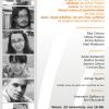 """Studioul de Poezie: """"Asperger"""" de Rita Chirian, """"Dispars"""" de Vlad Moldovan, """"Călăuza"""" de Ofelia Prodan, """"Lemur"""" de Andra Rotaru, """"Poezii naive şi sentimentale"""" de Dan Sociu, """"Apoi, după bătălie ne-am tras sufletul"""" de Bogdan-Alexandru Stănescu"""