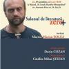 """Marius Marian Şolea, Dorin Cozan şi Cătălin-Mihai Ştefan la ediţia a III-a a """"Salonului de literatură Zero+"""""""