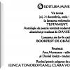 """""""Testament – Antologie de poezie română modernă"""" (coord. Daniel Ioniţă) şi """"Alunecarea cometei"""" de Vlad Neagoe, lansate la Bookfest de Crăciun"""