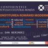"""Academicianul Dan Berindei dezbate pe tema """"Constituirea României Moderne"""", în cadrul Conferinţelor ICR"""