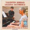 """Lansarea CD-ului """"Sonate pentru vioară şi pian de Brahms"""", la Braşov"""