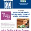 """Scriptores in Academia. Arhiva sonoră a literaturii române contemporane"", cu Ion Pop și Adrian Popescu"
