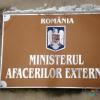 Protest adresat Ministerului Afacerilor Externe din România