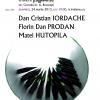 Dan Cristian Iordache, Florin Dan Prodan și Matei Hutopila, invitaţi la Clubul de lectură Institutul Blecher