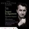 """""""Înapoi la argument"""" cu Horia-Roman Patapievici şi Mircea Dumitru"""
