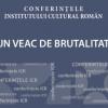 """""""Un veac de brutalitate"""" cu profesorul Vasile Morar"""