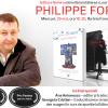 Romancierul francez Philippe Forest în România