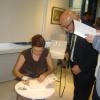 """Mireille Rădoi a lansat volumul de poezie """"ieşireadinbazadedate"""" la Galeria GALATECA"""