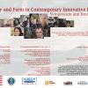 """""""Identitate și formă în Poezia Inovatoare Contemporană"""": simpozion, masă rotundă şi lecturi publice"""