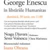 """Neagu Djuvara, invitatul Duminicilor Muzicale ale Festivalului """"George Enescu"""""""