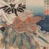 """""""Imagini ale lumii trecătoare. Războinici şi poeţi, actori şi femei frumoase"""", gravuri de Utagawa Kuniyoshi, la MNAR"""