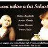 """""""Marea iubire a lui Sebastian"""", la Godot Cafe Teatru"""