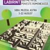 """""""1001 metri de poveste românească"""", un labirint de 600 metri pătraţi în Muzeul Astra"""