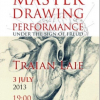 """Master Drawing Performance"" cu graficianul Traian Laie"