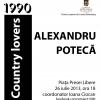 """Alexandru Potecă expune """"Country Lovers"""" în Piaţa Presei Libere"""