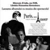 """Se lansează albumul de chansonete """"Paris, mon amour"""""""
